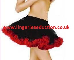 Red Trim Petticoat