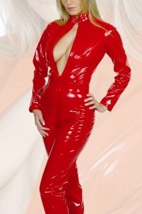 Plus Size Leather/PVC