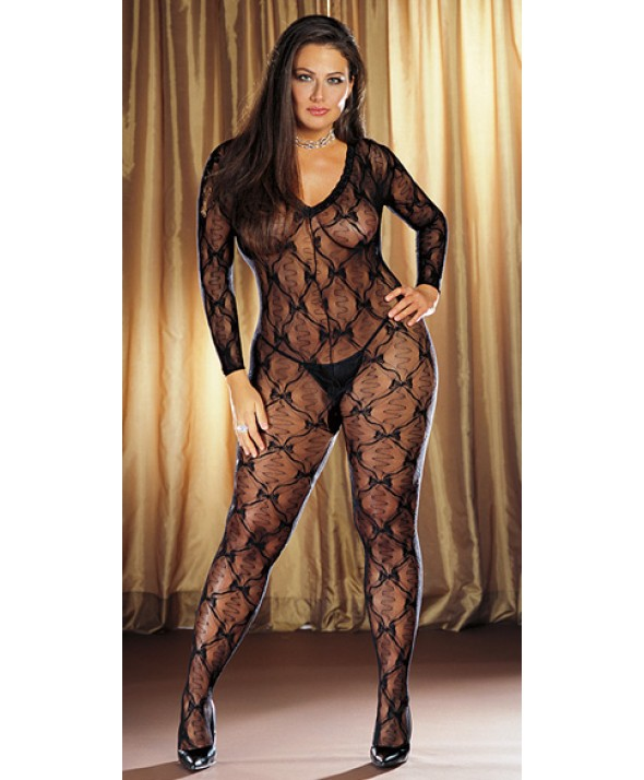 Bordeaux Bodystocking