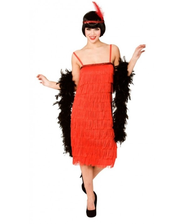 Red Jazzy Flapper