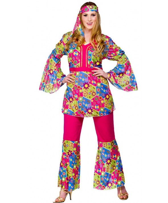 Feelin Groovy | Plus Size Fancy Dress| EF-2156