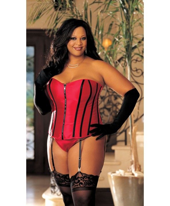 Red Satin Corset