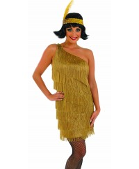 Gold CharlestonFlapper