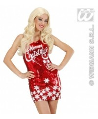 Red Sequin Santa