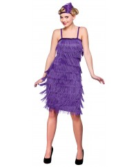 Purple Jazzy Flapper