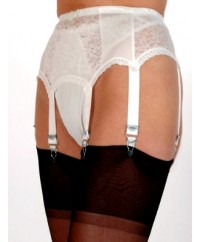 6 Strap Lace Vintage Suspender Belt