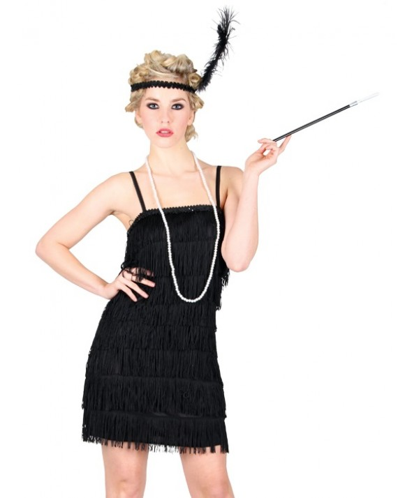 Black Showtime Flapper