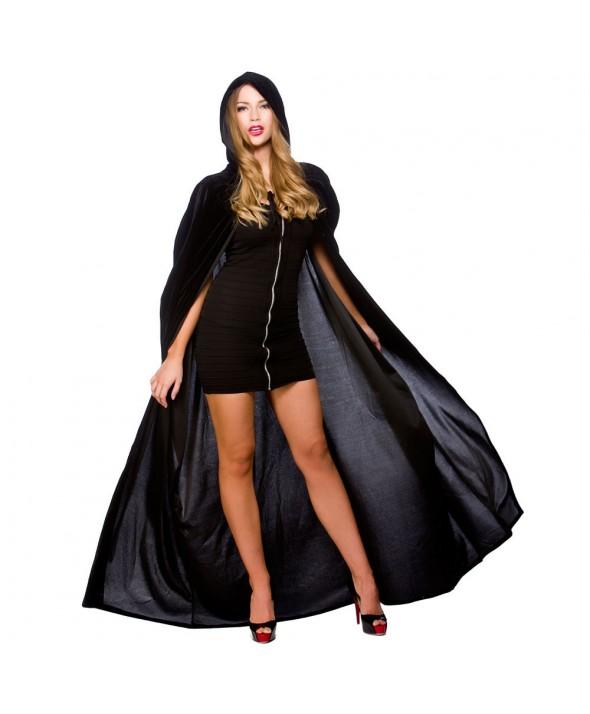 Deluxe Black Velvet Cape