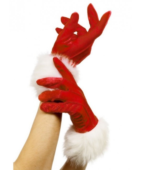 Christmas Santa Gloves