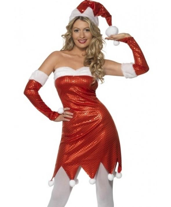 Sequin Santa