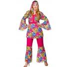 Feelin Groovy | Plus Size Fancy Dress| EF-2156