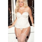 Venice trim Tapestry Bridal Corset