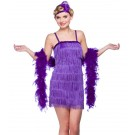 Purple Showtime Flapper
